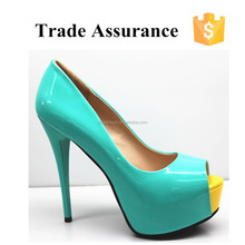 High heel platform shoes for women