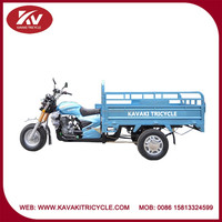 Cheap good quality air-cooled powerful 3 wheel cargo motorcycle/tricycle sale