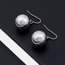 Basket ball Stainless steel earring jewelry hot sale BE10548