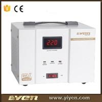 Servo type SVC 1000VA stabilizer automatic voltage regulator 1000VA with LED display