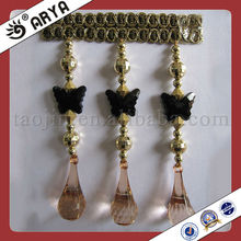 Hot Sale Nice Bead for Decoration Curtain,Interior Decoration Curtain Beads Home Textile of Tassel Fringe