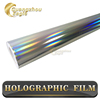 Hot Sale 1.4x25m Air Drain Film Holographic Foil Holographic Car Vinyl Wrap