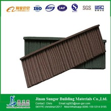 Color Coated Roofing Tile Stone Metal Roof Tile Factory Direct Sale