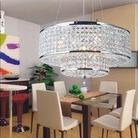 cloths shop modern decoration circle crystal chandelier