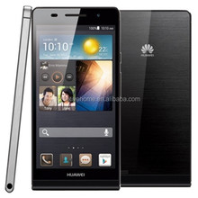 2014 new original Huawei Ascend P6 mobile phone from factory with Quad-core 1.8 GHz Corte-A9
