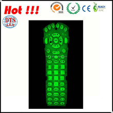 Electronic Equipment Green Silicone Button