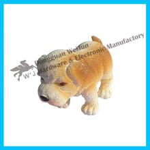 Eco- ambiente de pvc mini lindo perro de juguete para los niños, personalizado de plástico pequeñas figuras de juguete