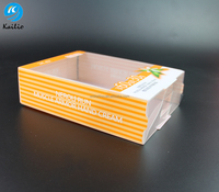 China hot selling pet pvc plastic box packing/pvc clear box