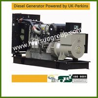 AC three phase output type With perkins 200kw/250kva electric generators 24V auto start