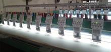 India 912 máquina de bordar plana 400 800 1200 MM