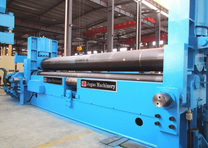 cnc steel plate hydraulic Sheet rolling machine roller bending roll bending machine 3 roller type machinery