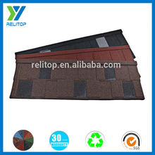 Waterproof stone coated roofing sheet/Low roofing shingle price
