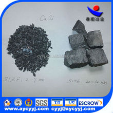 Chinese supplier hot sell Silicon Calcium metal for steel making Si50-60,Ca28-30