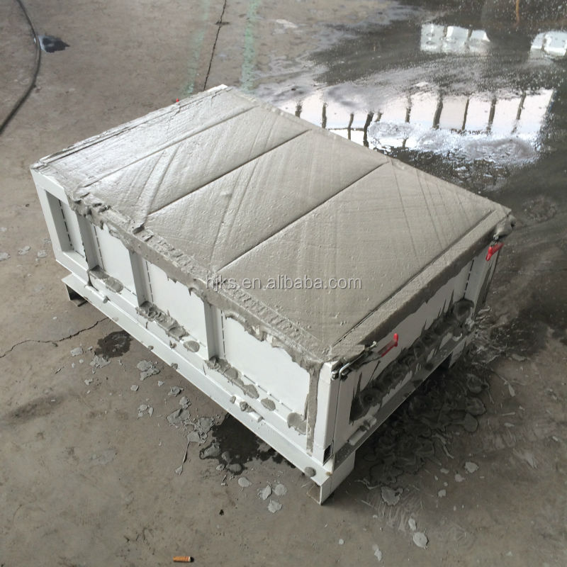 Clc special foam concrete block mould 2015new foam Cement foam blocks
