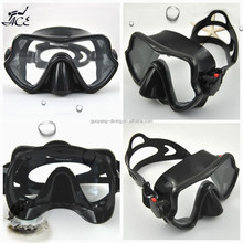 ACE Seal adjustable temper one window glass customized logo printed adult diving mask with packing