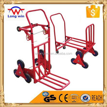 Six wheels hand trolley for Climbing stairs hand trolley truck