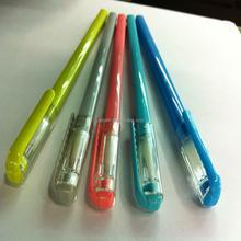 Magnetic ink pen color Plastic fine point gel ink pen