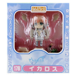 Wholesale 10cm PVC 178# q version Heaven's Lost Property Ikaros Japanese cartoon characters action figure