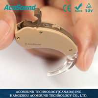AcoSound Acomate 210 BTE CE Approved Voice Oem Deafness Infini Ear Hearing Aid
