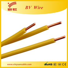 BV2.5 single core electrical cables sizes
