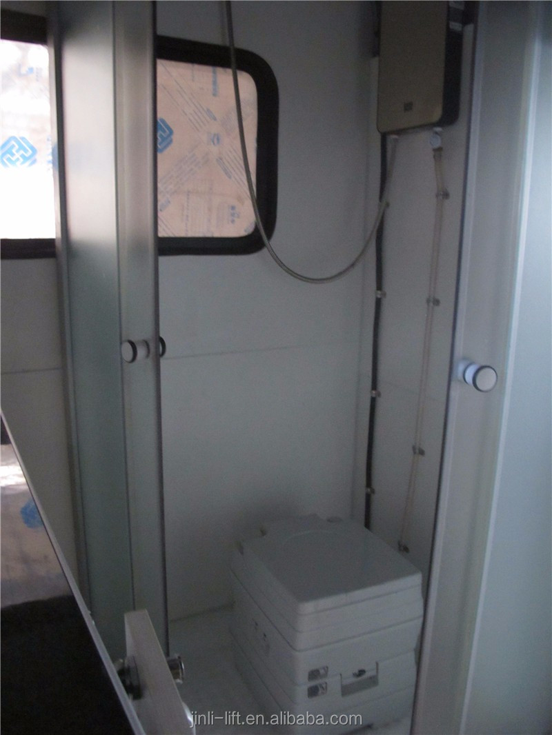 reboque da caravana reboque do curso com top ar condicionado toldo duche cozinha made in china. Black Bedroom Furniture Sets. Home Design Ideas