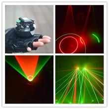 Blue color LASER GLOVES/laser dance show parts/laser gloves