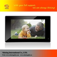 best 7 inch lcd in wall monitor digital photo frame
