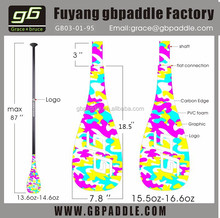 sup race paddles carbon/stand up surfing paddle for sales