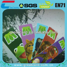 animal PVC fancy bookmark from shenzhen