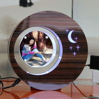 LED suspending in the air magnetic levitation photo frame different gifts to india