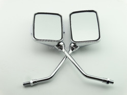 High Quality Chromed Motorcycle Side Rearview Mirror fits for universal motorcycle scooter motorbike