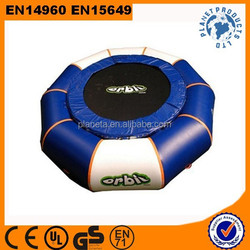 2015 Hot Sale Cheap Inflatable Water Park Games Trampoline