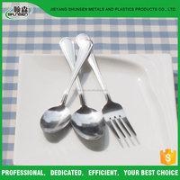 Jieyang Stainless Steel Spoon And Fork Set