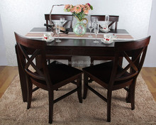 S30106B-2 WOODEN DINING TABLE MODERN DINING SETS EUROPEAN FURNITURE