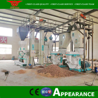 Sell German wood pellet making press pellet mill machine 5 ton per hour price