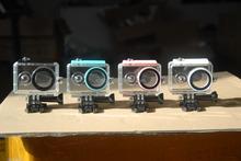 Underwater 40M Xiaomi Yi Action Camera Waterproof Housing Case for Xiaomi Yi Camera (lock color: white /black/blue/pink)