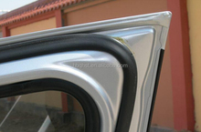 hot sale low-cost manufacturer custom designed EPDM camber automobile door rubber seal strip truck door seal