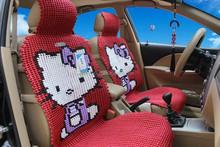 2015 new design hello kitty car seat cover