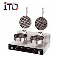 SH-WB2 Wholesale Cast iron Carbon Egg waffle maker