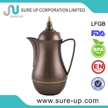 Top sale wholesale vacuum hiking jugs with pu cover