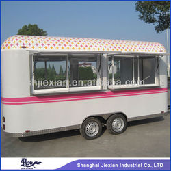 2015 Shanghai Style !!!! JX-FS500R Mobile electric food van for sale