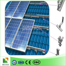 aluminum pitched roof solar mounting solar panel photovoltaic pitched pv solar panel price
