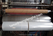 100% virgin material LLDPE stretch film extrusion film