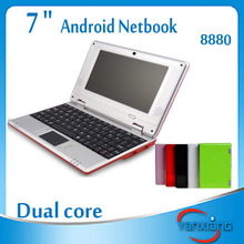 7 inch mini oem laptop Android 4.2 VIA 8850 /VIA 8880 Netbook Laptops RW-L01-10