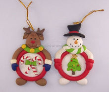 new product andmade polymer clay house ornaments