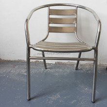home used stacking stainless steel dining chairs (YC024)