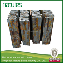 China direct manufacturer -100% natural slate culture stone for village style