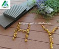 Moderna casa projeto wpc bloqueio telhas decking/wood plastic composite deck bordo/wpc fábrica na china
