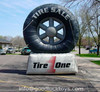 Inflatable tire / Giant inflatable advertising for hot sale / Inflatable tire shape