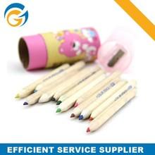 School Children Fluorescent Pencil Logo Custom Promitonal Small Pencil